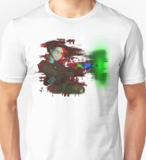 Glitched Dempsey Girl Unisex T-Shirt