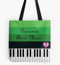 Passionate About Music : #A Tote Bag