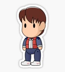 Scribblenauts 1985 Marty McFly Sticker