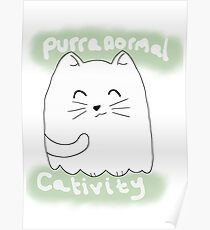 Purranormal Cativity Ghost Kitty Poster