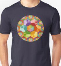 Rainbow Hexagons Unisex T-Shirt
