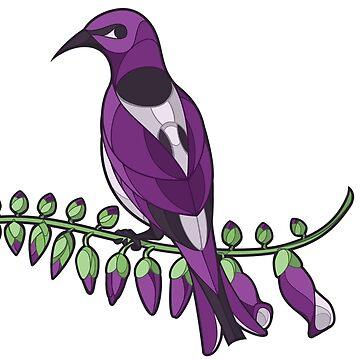 Pride Birds - Lesbian by wanderingkotka
