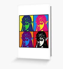 Zelda Warhol Greeting Card
