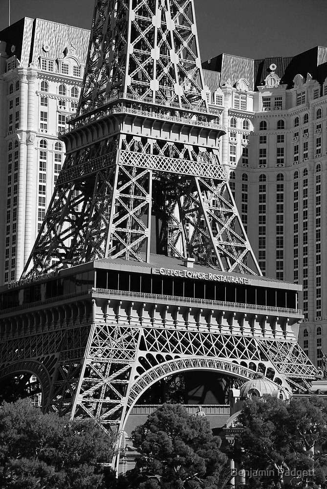 No. 21, La Tour Eiffel de Vegas by Benjamin Padgett