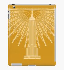 Empire State Building in Gold iPad Case/Skin