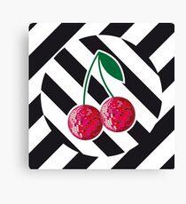 Disco cherry Canvas Print