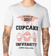 Class of 2017 Cupcake University Summa Cum Laude Men's Premium T-Shirt
