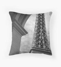 No. 27, La Tour Eiffel de Vegas Throw Pillow