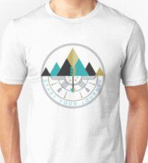 Start Your Journey Badge Emblem  T-Shirt