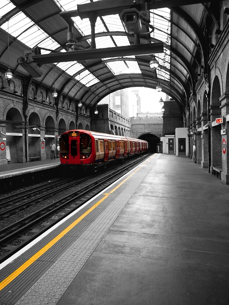 Notting Hill Gate Station by Rae Tucker