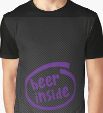 beer inside carbon Graphic T-Shirt