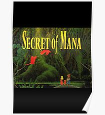 Secret of Mana Poster Poster