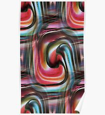 Colourful Abstract #1 Poster
