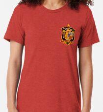 Camiseta de tejido mixto España. Espana.