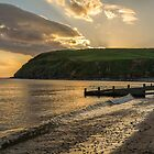 St. Bees Sunset.  by Dave Staton