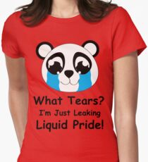 Panda Pride Womens Fitted T-Shirt