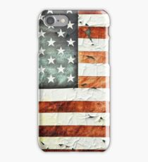 Painted Stars And Stripes iPhone Case/Skin