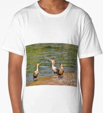 3 Cormorants Long T-Shirt