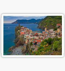 Italy. Cinque Terre. Vernazza. Sticker