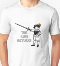 The King Returns Unisex T-Shirt