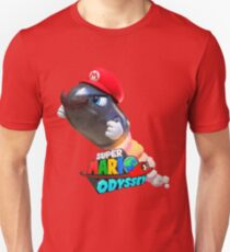 Super Mario Odyssey (Bullet Bill) Design T-Shirt