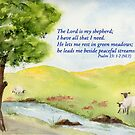 True Comfort - Psalm 23:1-2 by Diane Hall