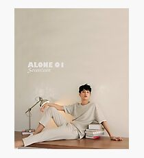 Seventeen Mingyu Photographic Print