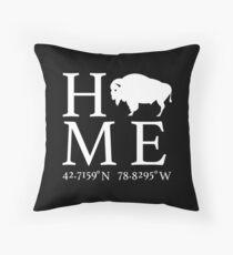 Hamburg, NY - Home Throw Pillow