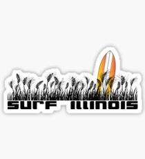 Surf Illinois Sticker