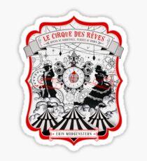 The Night Circus - light Sticker