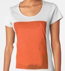 Orange you Simplistic Women's Premium T-Shirt