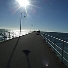 Glenelg Beach Jetty by Sarah Mosbey