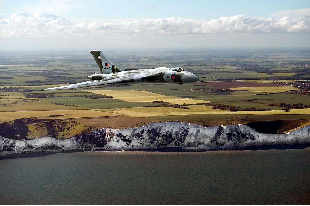 White cliffs Vulcan  by Gary Eason