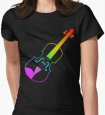 Rainbow Violin T-Shirt