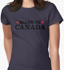 Made In Canada Womens Fitted T-Shirt