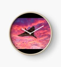 Vulcan going out in a blaze of glory Clock