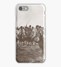 Russian Cossacks charge, WW 1, 1914 iPhone Case/Skin