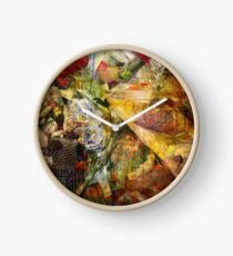 Brixton Bowie - Trembling Flowers Clock