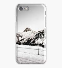 Mountains of Val D'isere iPhone Case/Skin