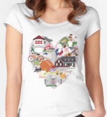 We Love Frisco Texas Women's Fitted Scoop T-Shirt