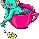 Koala-tea time by Dagloos
