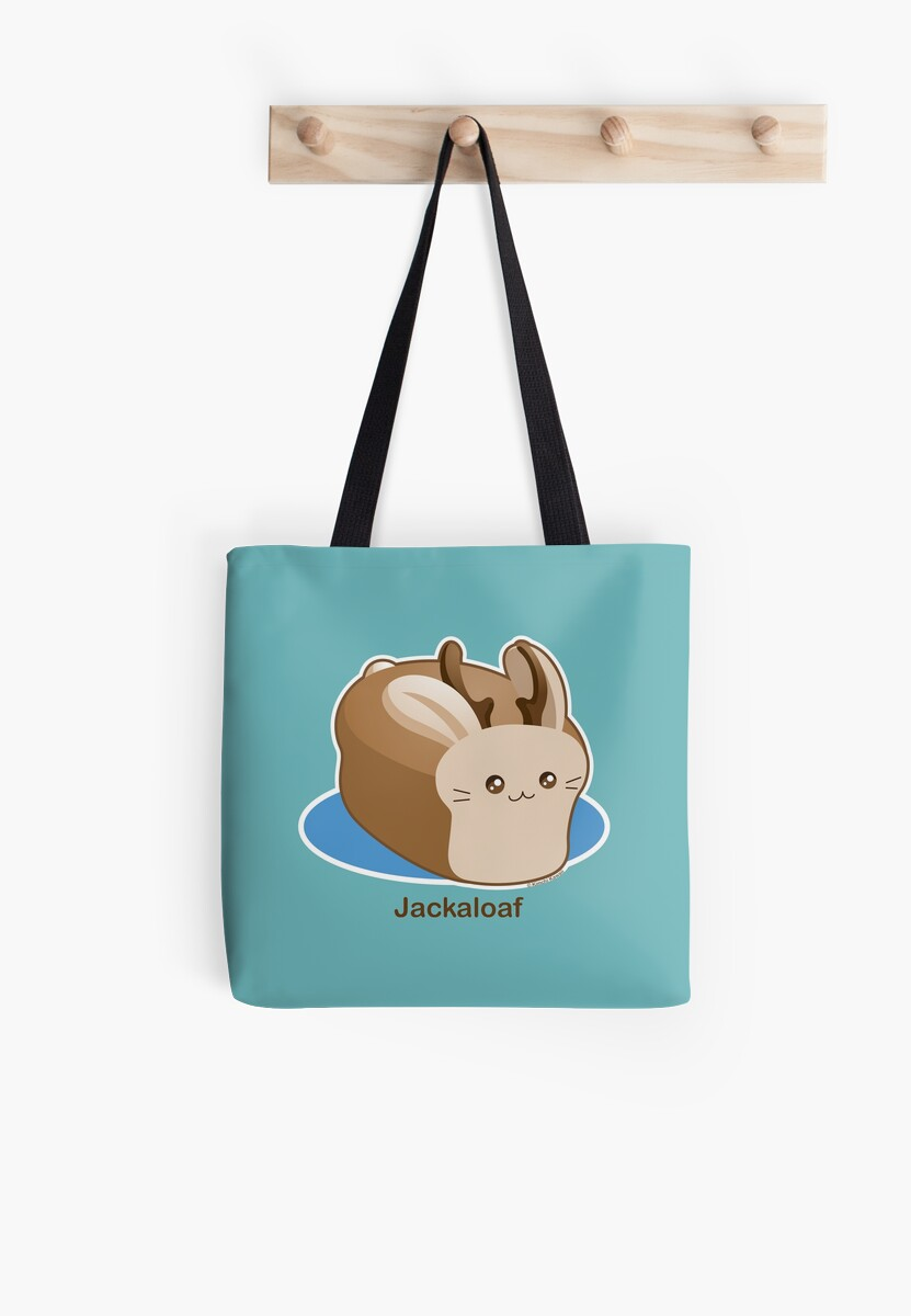 Cute Pun: Jackalope Bread Loaf by kimchikawaii