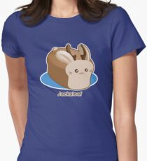 Cute Pun: Jackalope Bread Loaf Women's Fitted T-Shirt