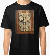 medieval wood painting Classic T-Shirt