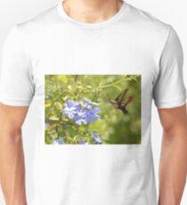 Hummingbird Moth in Flight Unisex T-Shirt