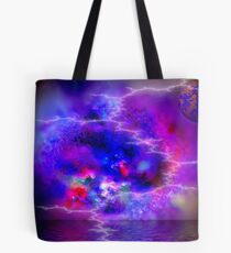 Foreboding Planet Tote Bag