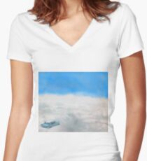 Enchanted Car Women's Fitted V-Neck T-Shirt