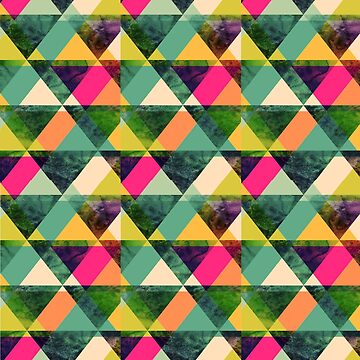 Colorful Triangles by JuanBuel