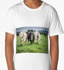The lonely cow Long T-Shirt