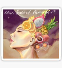 Hayley Kiyoko - Fruity This Side of Paradise Sticker